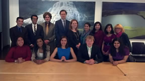 Model United Nations Students Attend Conference in New York City!