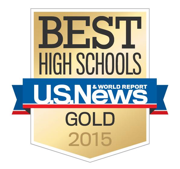 New Hartford is recognized as a Gold Medal School
