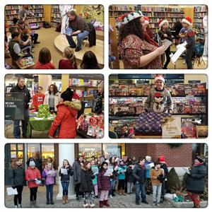Barnes & Nobles Holiday Event