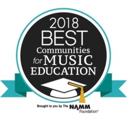 New Hartford Central School Recognized as one of the 2018 Best Communities for Music Education