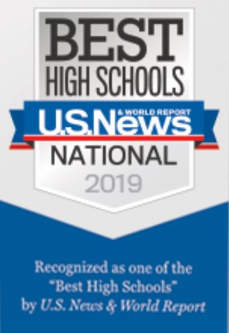 US News and World Report recognizes New Hartford Senior High as one of America's Best High Schools